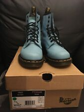 Dr Martens Airwair Wild Aqua UK Size 4 Boots With Box