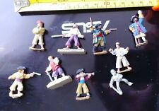 Wargames Metal Lead painted good Pirates 1 inch approx figures