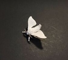 Kaiyodo Capsule Q House Silk Moth Butterfly Insect Retired Figure w/ Adhesive
