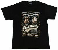 Ned Kelly - Adult T Shirt Australian Souvenir 100% Cotton - Wanted