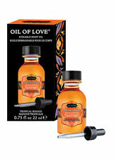 KAMASUTRA massage oil of love flavored TROPICAL MANGO kama sutra kissable edible
