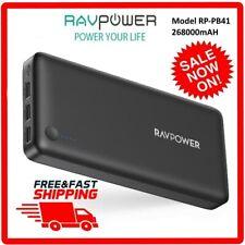 RAVPower 26800mAh Power Bank Battery Pack Tri-output RP-PB41