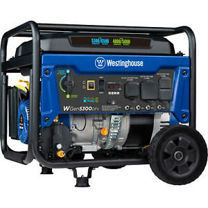 Westinghouse 6,600-W 240V Portable RV Ready Gas Powered Generator with Wheel Kit