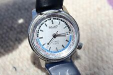 Vintage Seiko World Time Automatic Watch 1964 Tokyo Olympics Ref 6217-7000 Men's