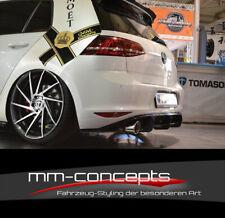 Diffusor für VW Golf 7 VII GTI Heckansatz Heck Schürze Ansatz Performance DTM RS