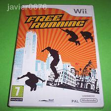 FREE RUNNING NUEVO Y PRECINTADO PAL ESPAÑA NINTENDO Wii