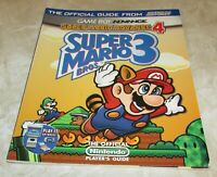 Super Mario Bros. 3 Strategy Guide for Nintendo Game Boy Advance