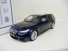 1:18 Otto Mobile BMW M5 E61 Touring blue metallic Lim. Ed. 500 NEW SHIPPING FREE