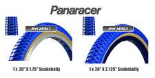 """Panaracer NTKK Snakebelly Tyres Blue 20"""" x 1.75"""" & 20"""" x 2.125"""" - Old School BMX"""