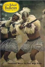 national geographic-SCHOOL BULLETIN-nov 17,1969-SWAZILAND WEARS ITS PAST WITH...