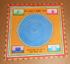 Talking Heads Speaking in Tongues Poster Flat Square 1983 Promo 12x12 Rare