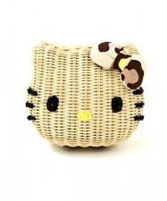 NEW Sanrio Hello Kitty x Nina mew Kitty Face Basket Pochette Mini Shoulder Bag