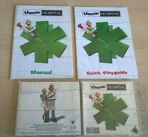 THEME HOSPITAL - 1997 PC GAME - ORIGINAL JC EDITION WITH MANUALS - VGC