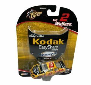 RUSTY WALLACE 2004 Winners Circle 1:64 Diecast Car Kodak EasyShare w/ Hood