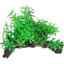 New listing Tree Root with Plants, Plastic Plants on polyresin Driftwood, Aquarium Decor