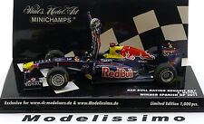1:43 Minichamps Red Bull Renault RB7 GP Spain Vettel 2011 with figure
