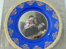 Vintage JKW Western Germany Fine Porcelain Charger Plate