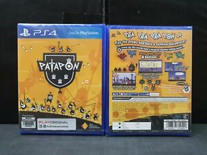 (ASIA ENGLISH VERSION) PS4 Patapon (ENGLISH COVER/Brand New)