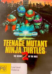 TEENAGE MUTANT NINJA TURTLES 2  DVD THE SECRET OF THE OOZE