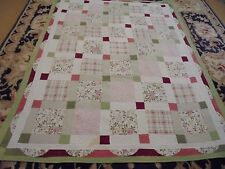 Cute Big Block & Granny Square Pattern w/Frame Quilt