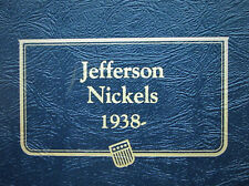 Jefferson Nickel Album, Complete from 1938 to 2014