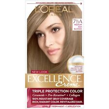 L'Oreal Excellence Creme 7 1/2A Medium Ash Blonde