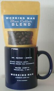 WORKING MAN 2020 MOVIE FYC OFFICIAL PROMO PROMOTIONAL CERAMIC MUG & COFFEE BEANS