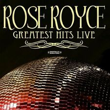 Greatest Hits-Live - Rose Royce (2013, CD NIEUW) CD-R