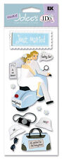 Jolie's I Do Wedding Scrapbook Stickers - Just Married Honeymoon Newlyweds