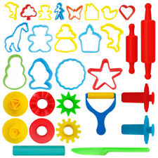 24-Piece Tools Dough & Clay Party Pack w/Animal Shapes Cutters-Molds-Rollers