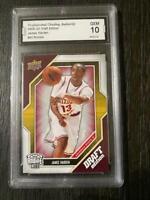 James Harden 2009 Upper Deck Draft Edition ROOKIE CARD Gem 10 Arizona State RARE