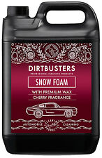 Dirtbusters Car Candy Snow Foam shampoo high gloss wax cherry candy fragrance 5L