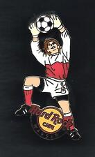 Hard Rock Cafe Warsaw World Cup Soccer Ball. Pin 4 ++