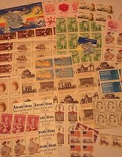 New 100 Assorted Mixed, Multiples & Singles of 18 ¢ Cents US Stamps. FV $18.00