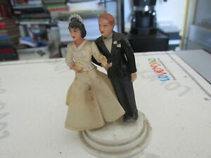Vintage Wedding Decoration Pie Nuptial Years 50 Pair Spouses