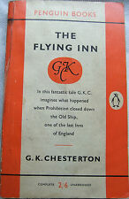 The Flying Inn - G.K. Chesterton; Paperback book (Penguin 1958)