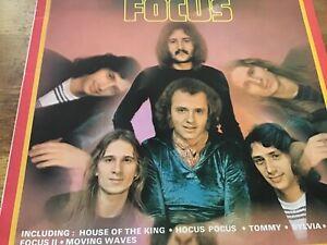 Focus - Focus Self Titled - LP Imperial Records 1983 Compilation EX
