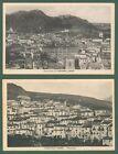 Calabria. CASSANO IONIO, Cosenza.2 panorami. Cartoline viagg. nel 1936 e 1939