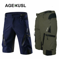 Baggy Cycling Shorts Bike Off Road Downhill MTB Hi-Density Men Short Pants