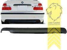 Heckansatz Heckspoiler Diffusor für BMW E46 Limousine für M-Paket