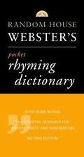 Random House Webster's Pocket Rhyming Dictionary: Second Edition (Pocket Referen