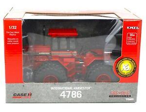 2021 ERTL 1:32 *CASE IH* International 4786 *4WD* Tractor NFTM *PRESTIGE* NIB