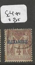 French Alexandria SC 4 VFU (2cpp)