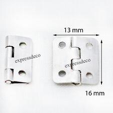Lot30 Mini Charnière Porte Paumelle  Pivot Meuble Ancien Armoire Buffet Placard
