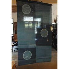 we0527, Japanese Noren, linen, blue door way curtain, dragonflies