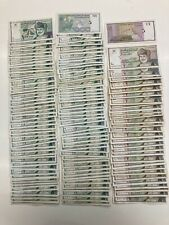 More details for oman banknotes. 30 x half rial. + 100 x 100 baisa. lot: 2739 .