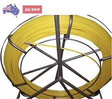 6 mm x 150m FIBRE GLASS RODDER Snake cable puller, NBN, ISGM, FOXTEL Electrical