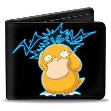 Pokemon Psyduck Bifold Buckle Down Wallet NEW