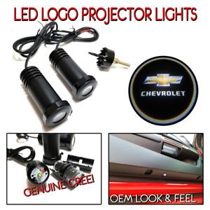 Lumenz C3 LED Courtesy Logo Lights Ghost Shadow for Chevrolet 100611