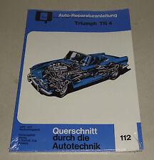 Reparaturanleitung Triumph TR 4 / Triumph TR 4 A - ab 1961!